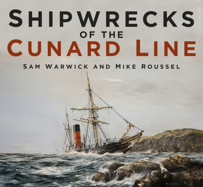 Shipwrecks of the Cunard Line